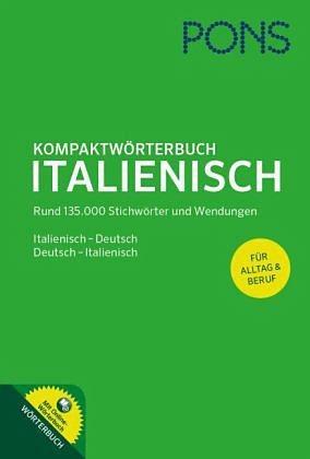 Gebundenes Buch »PONS Kompaktwörterbuch Italienisch«