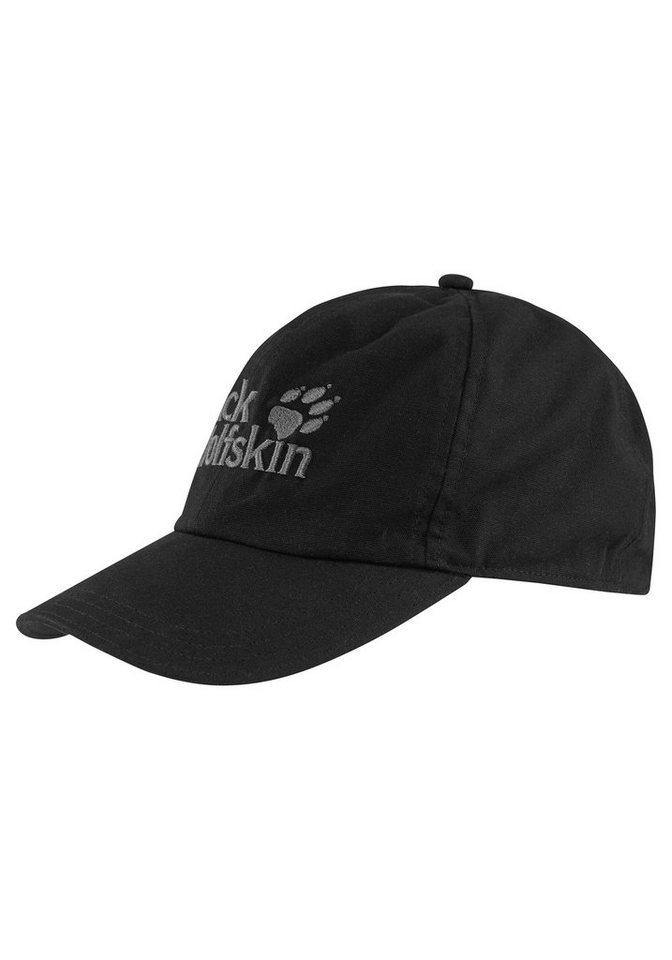 Jack Wolfskin Baseball Cap »BASEBALL CAP« in schwarz