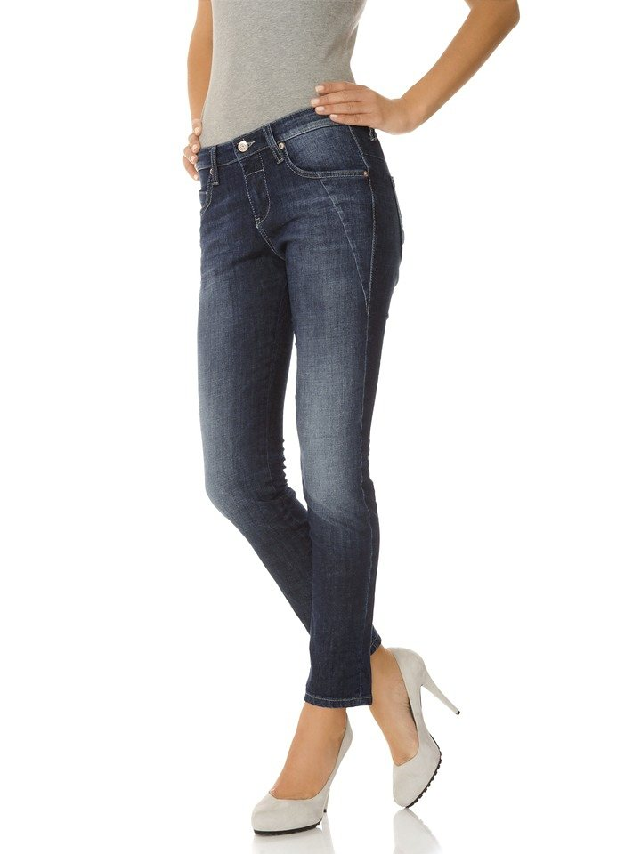 "Jeans ""Sexy Slim"" von MAC in dark denim"