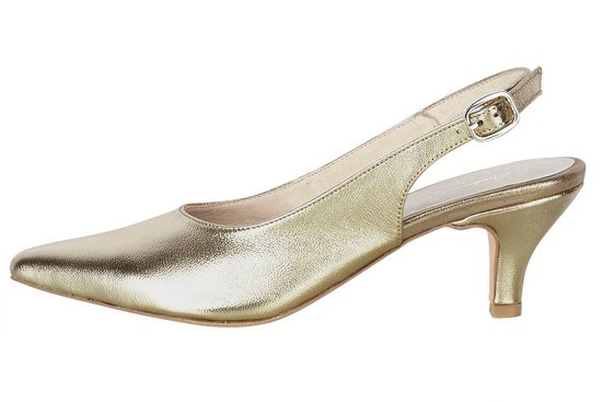Andrea Conti Slingpumps