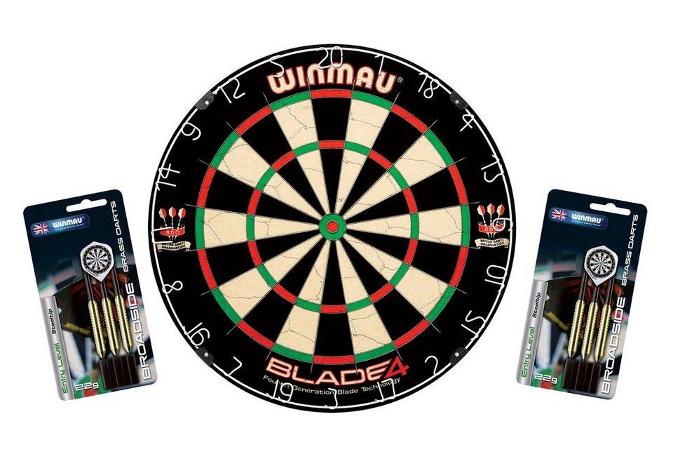 Dartboard, »Blade IV«, Winmau in mehrfarbig