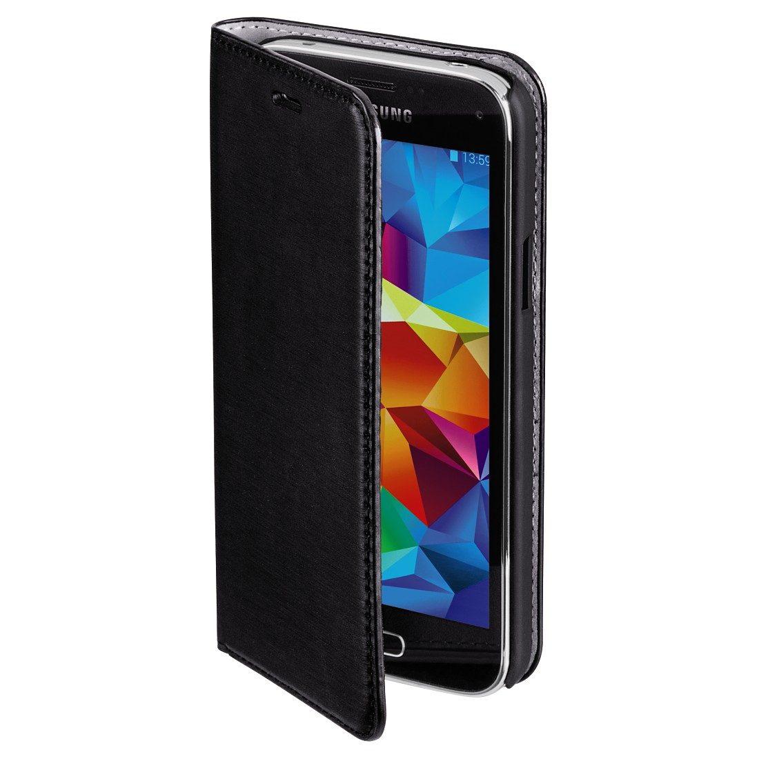 Hama Booklet Slim für Samsung Galaxy S5 mini, Schwarz