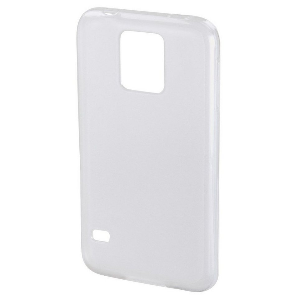 Hama Handy-Cover Crystal für Samsung Galaxy S5 (Neo), Transparent in Weiss