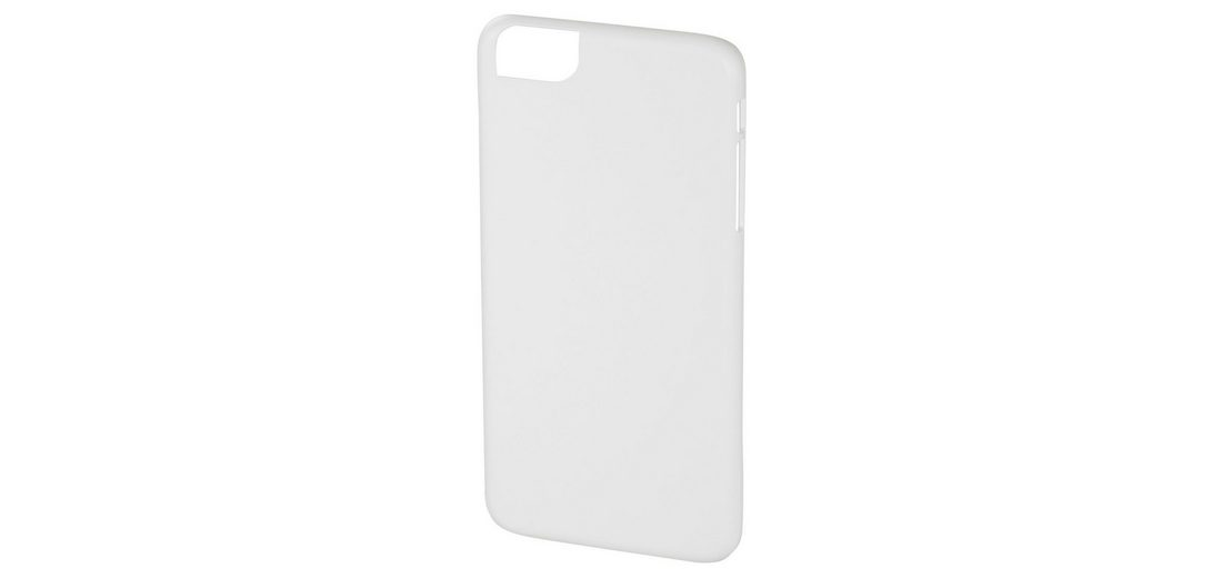 Hama Cover Rubber für Apple iPhone 6 Plus/6s Plus, Weiß