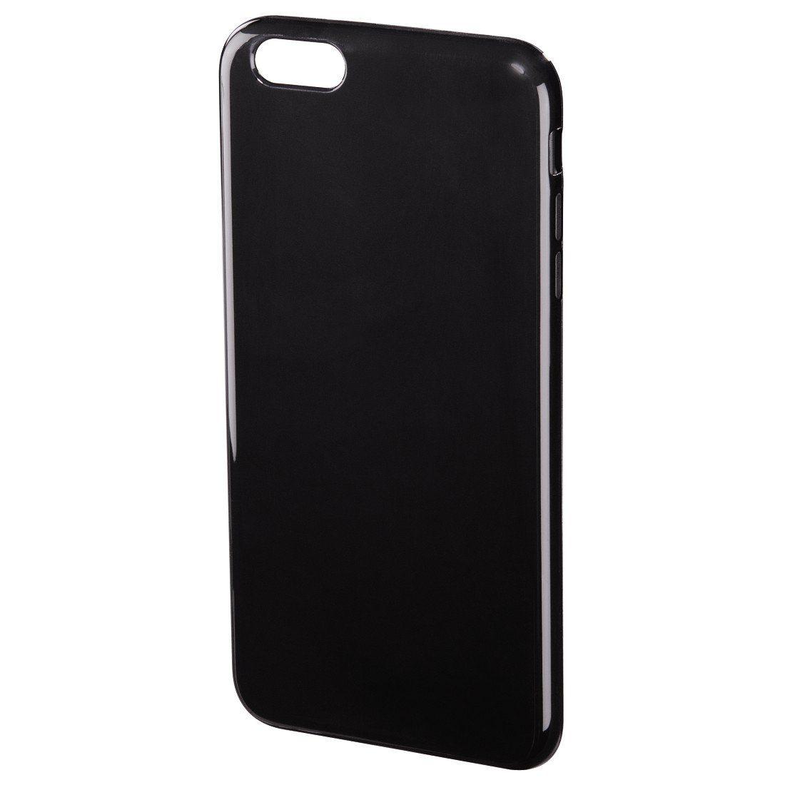 Hama Cover Crystal für Apple iPhone 6 Plus/6s Plus, Schwarz