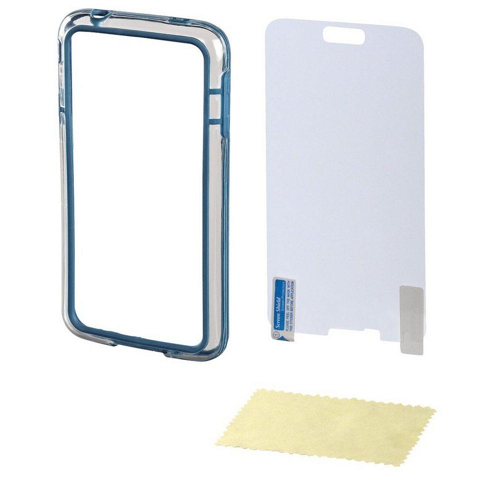 Hama Cover Edge Protector für Samsung Galaxy S5 (Neo) + in Blau