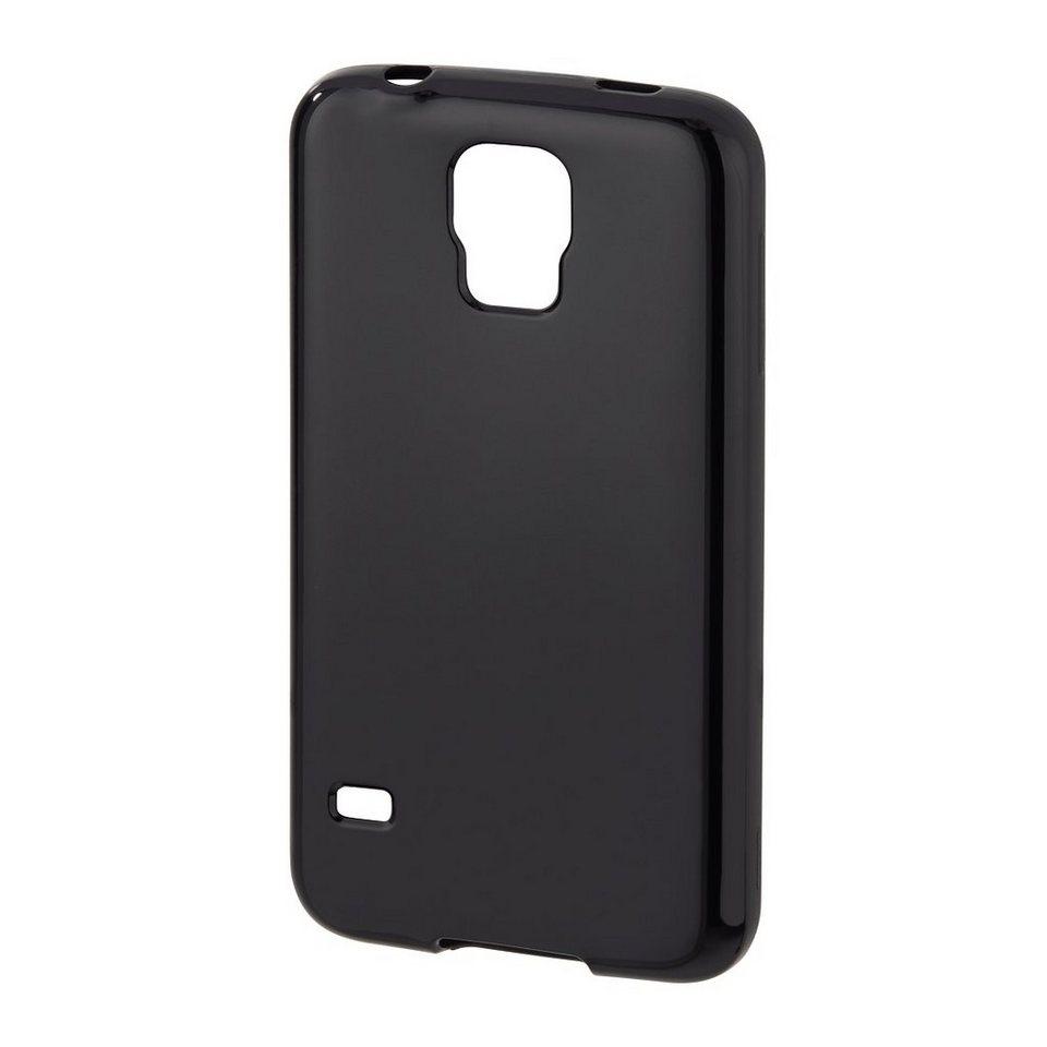Hama Cover Crystal für Samsung Galaxy S5 (Neo), Schwarz in Schwarz
