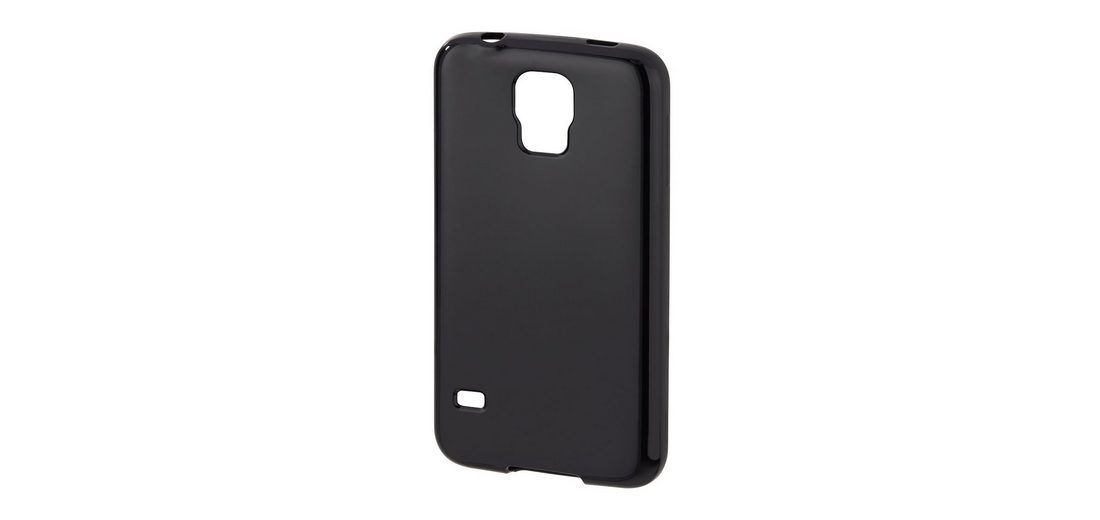 Hama Cover Crystal für Samsung Galaxy S5 (Neo), Schwarz