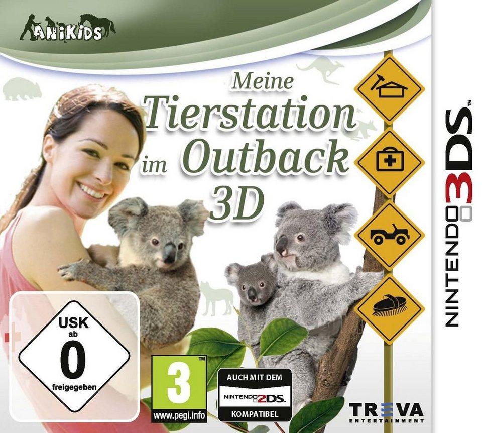 Treva Nintendo 3DS - Spiel »Meine Tierstation im Outback 3D«