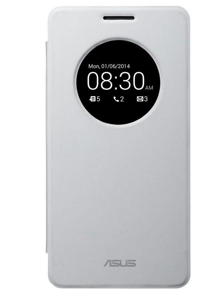 ASUS Smartphone Schutzhülle »Flip Cover weiss Zenfone 6 (90XB00RA-BSL0P0)« in weiß
