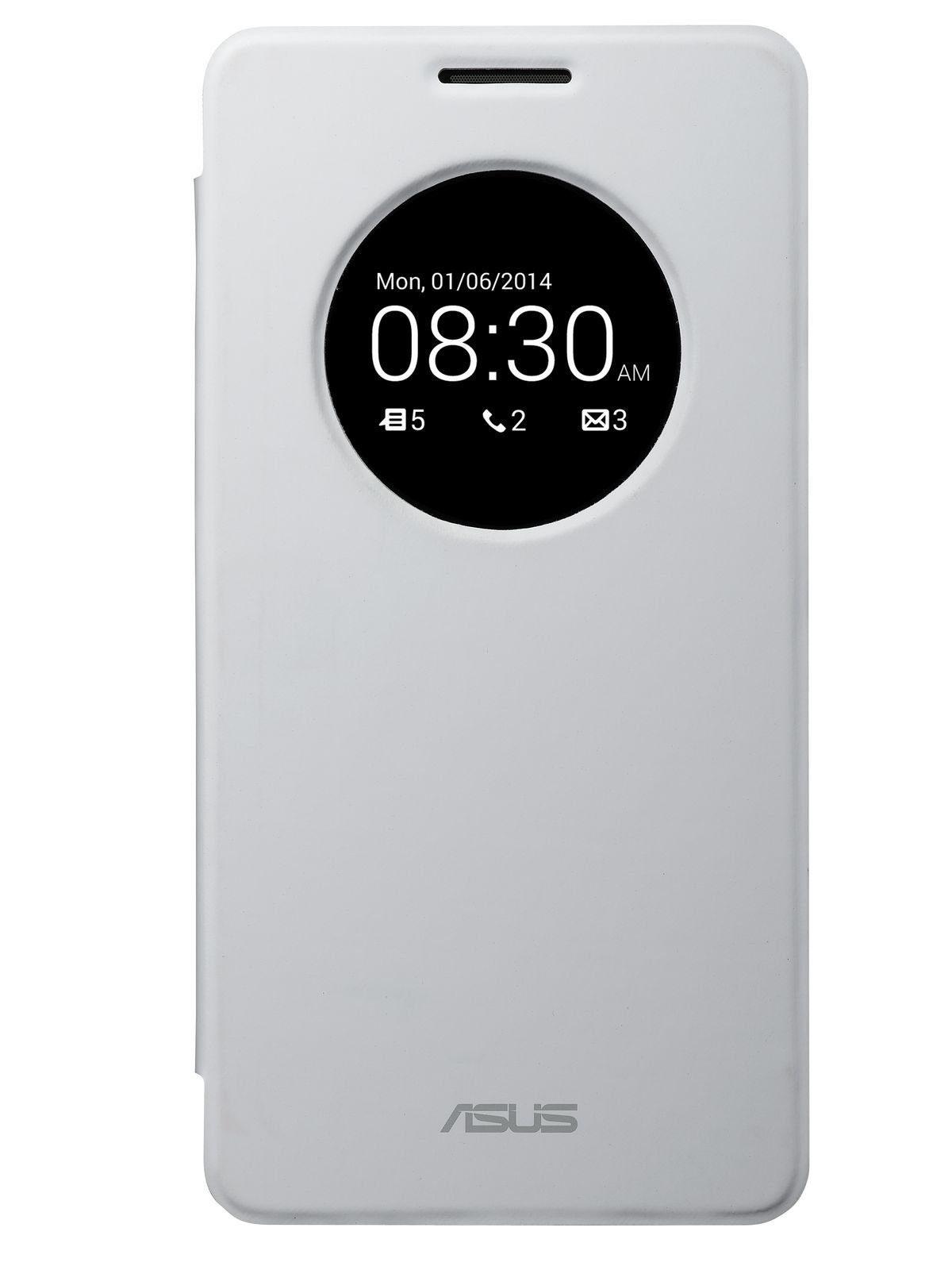 ASUS Smartphone Schutzhülle »Flip Cover weiss Zenfone 6 (90XB00RA-BSL0P0)«
