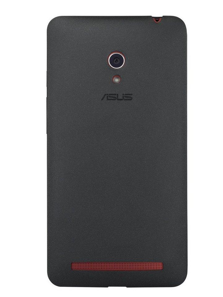 ASUS Smartphone Schutzhülle »Bumper Case schwarz Zenfone 6 (90XB00RA-BSL0E0)« in schwarz