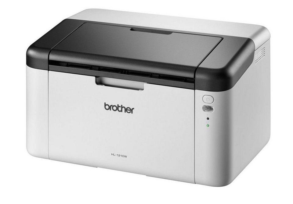 Brother Monolaser-Drucker »HL-1210W« in Grau