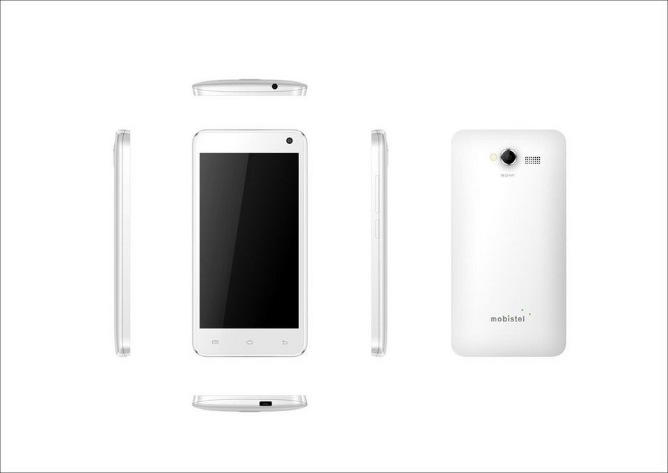 mobistel Smartphone »Cynus F6 weiß« in Weiß