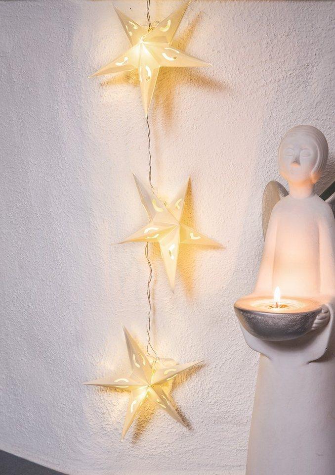 LED Deko-Lichterkette, Konstsmide in weiß