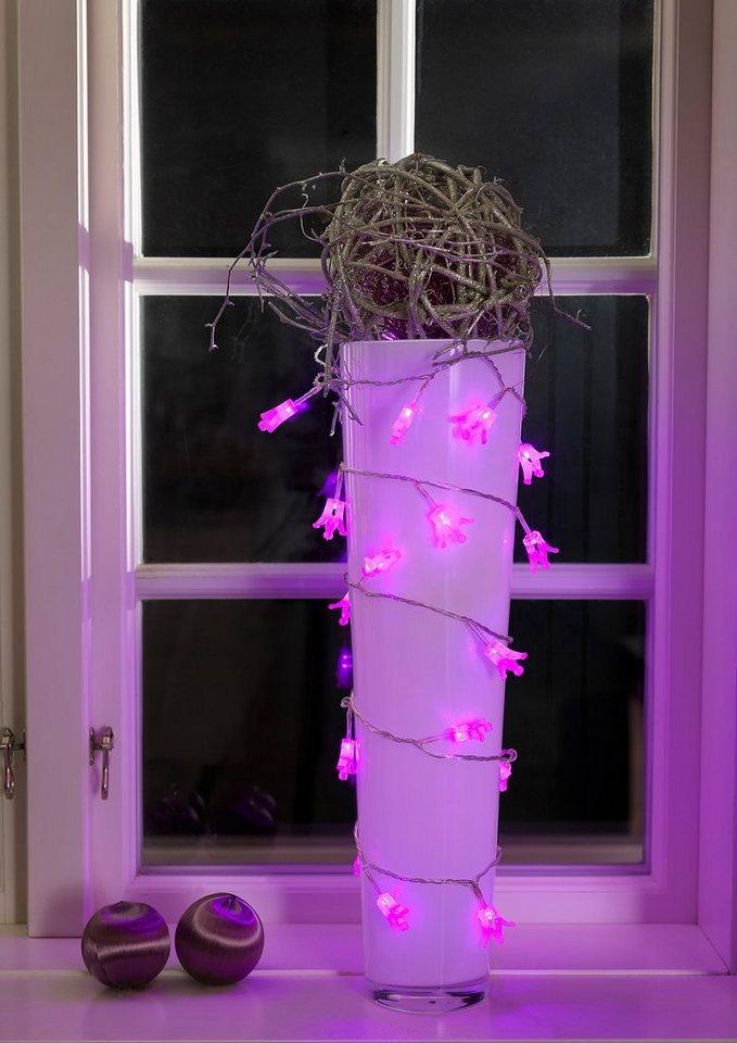 LED Deko-Lichterkette, Konstsmide in lila