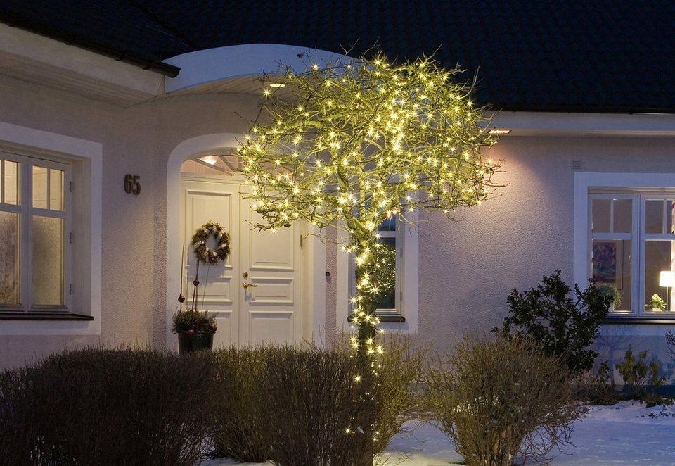 LED-Micro-Lichterkette, Konstsmide in warm weiß