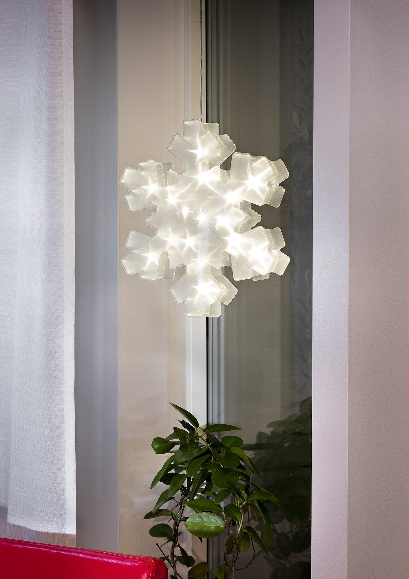 LED Schneeflocke, Konstsmide