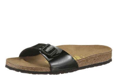 Birkenstock »MADRID« Pantolette, in schmaler Schuhweite, Lack-Optik!