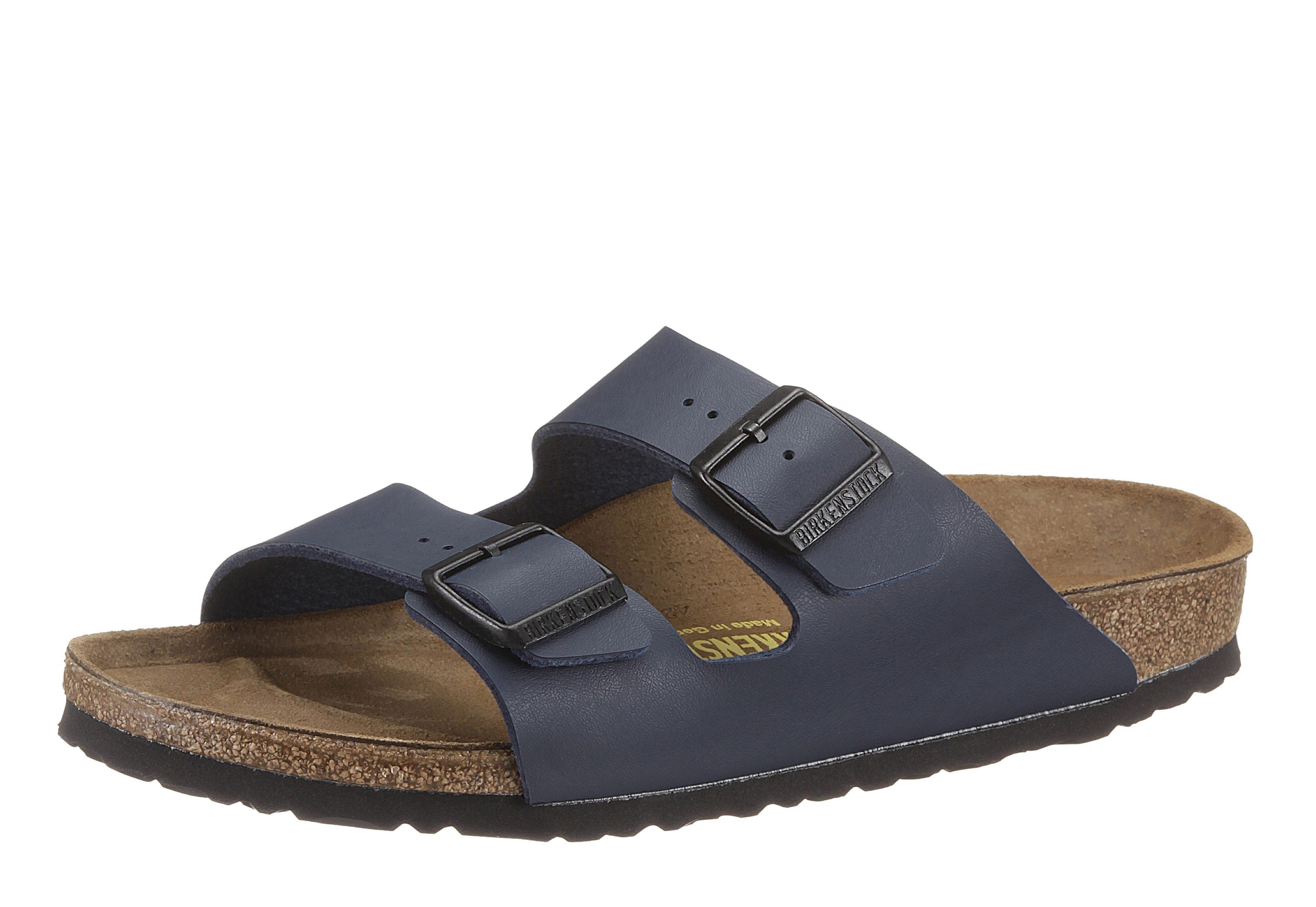 9arTNJmX99 »ARIZONA BF« Pantolette, in Schuhweite schmal, mit ergonomisch geformten Fußbett, weiß, EURO-Größen, weiß