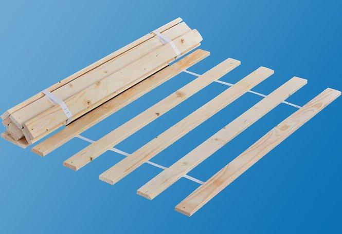 Rollrost, Silenta, 15 Leisten (1 oder 2 Stck.) | Schlafzimmer > Lattenroste > Rollroste | Holz | Silenta