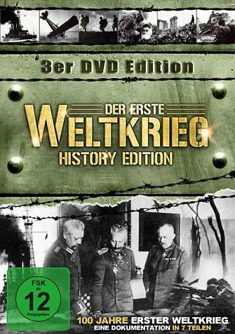 DVD »Great War - Der 1. Weltkrieg - History Edition...«