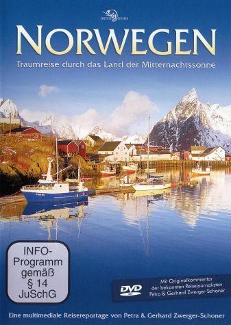 DVD »Norwegen - Traumreise durch das Land der...«