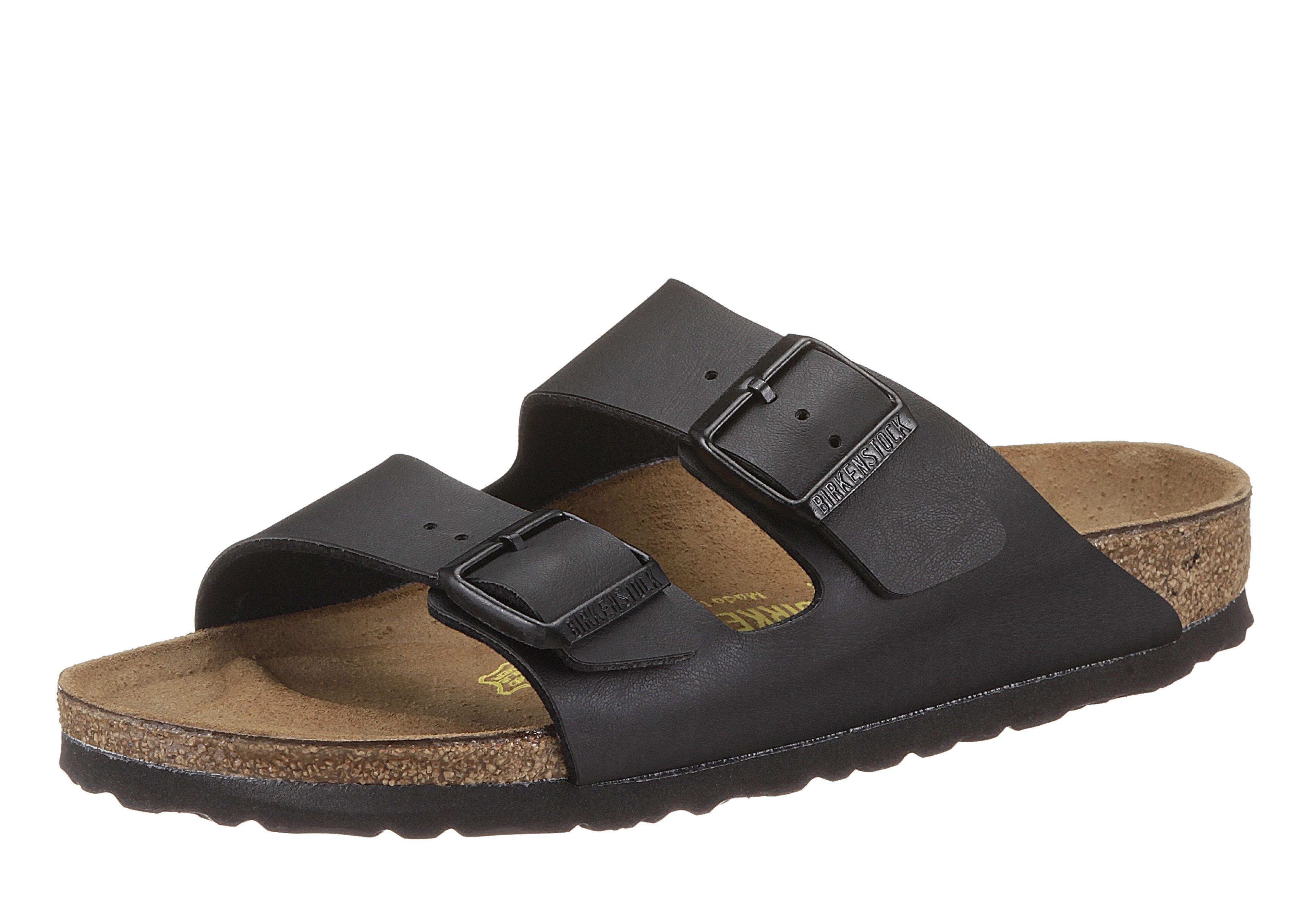 Birkenstock »ARIZONA BF« Pantolette mit ergonomisch geformtem Fußbett online kaufen   OTTO