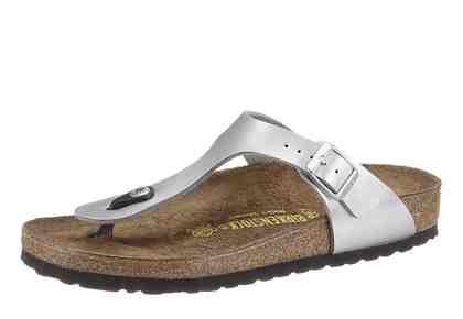Birkenstock »GIZEH BF« Zehentrenner, in schmaler Schuhweite, mit verstellbarer Schnalle