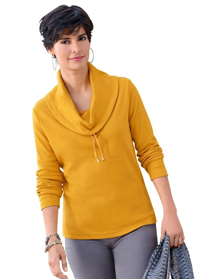 Collection L. Shirt in angenehm weicher Qualität in curry