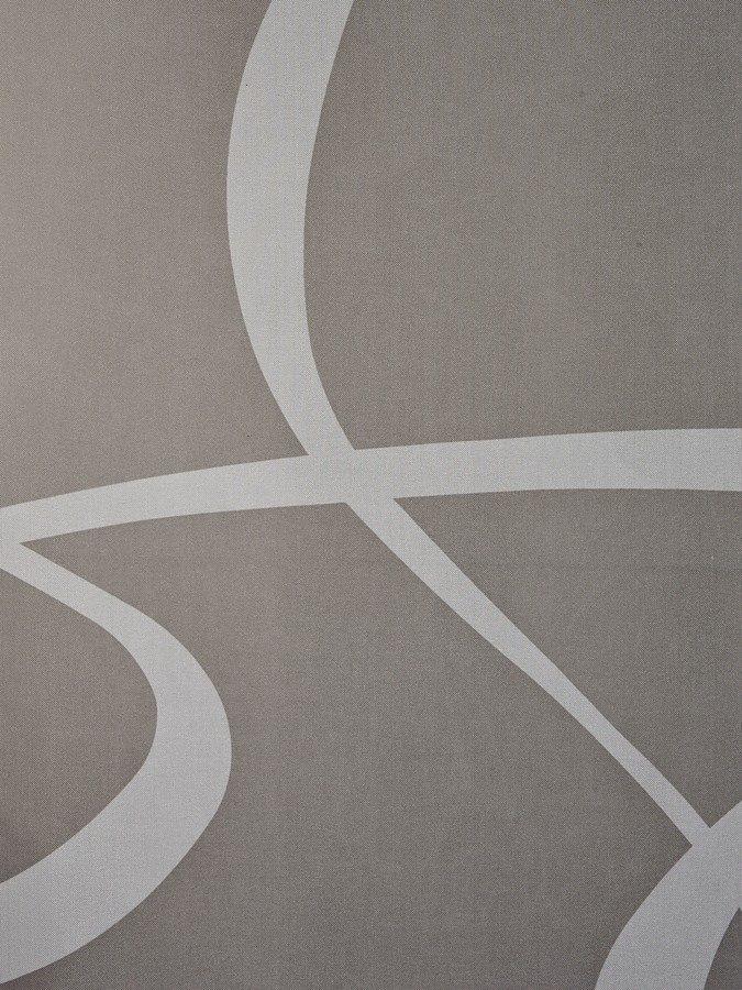 heine home Schiebevorhang in taupe/weiß