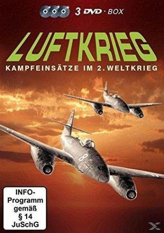 DVD »Luftkrieg - Kampfeinsätze im 2. Weltkrieg (3...«