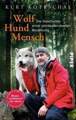 Broschiertes Buch »Wolf - Hund - Mensch«