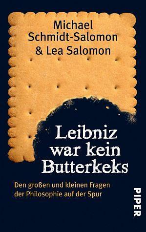 Broschiertes Buch »Leibniz war kein Butterkeks«