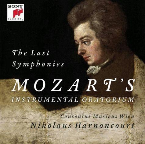 Audio CD »Wolfgang Amadeus Mozart: Sinfonien 39,40 & 41«