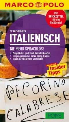 Broschiertes Buch »MARCO POLO Sprachführer Italienisch«