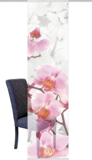 schiebegardine home wohnideen hanami mit klettband 1. Black Bedroom Furniture Sets. Home Design Ideas