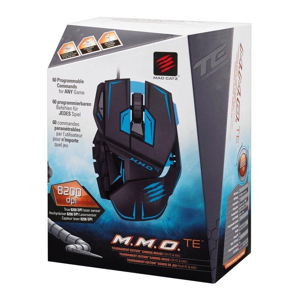 Mad Catz Mouse M.M.O. TE Matt Schwarz »(PC)«