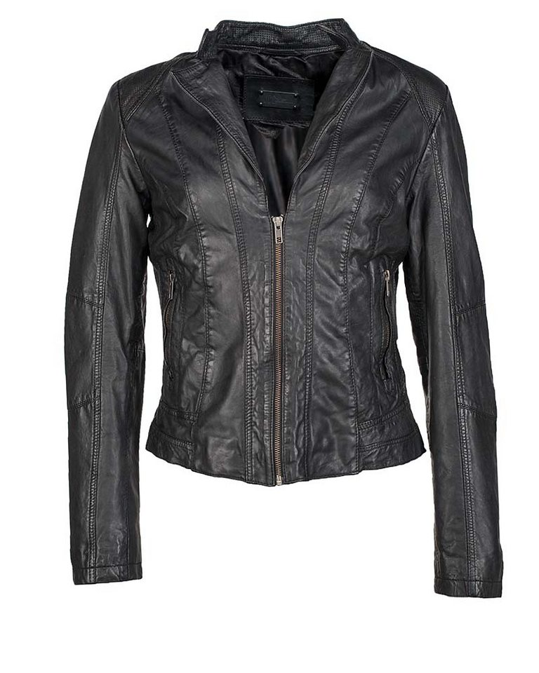 JCC Lederjacke, Damen »V&D« in black