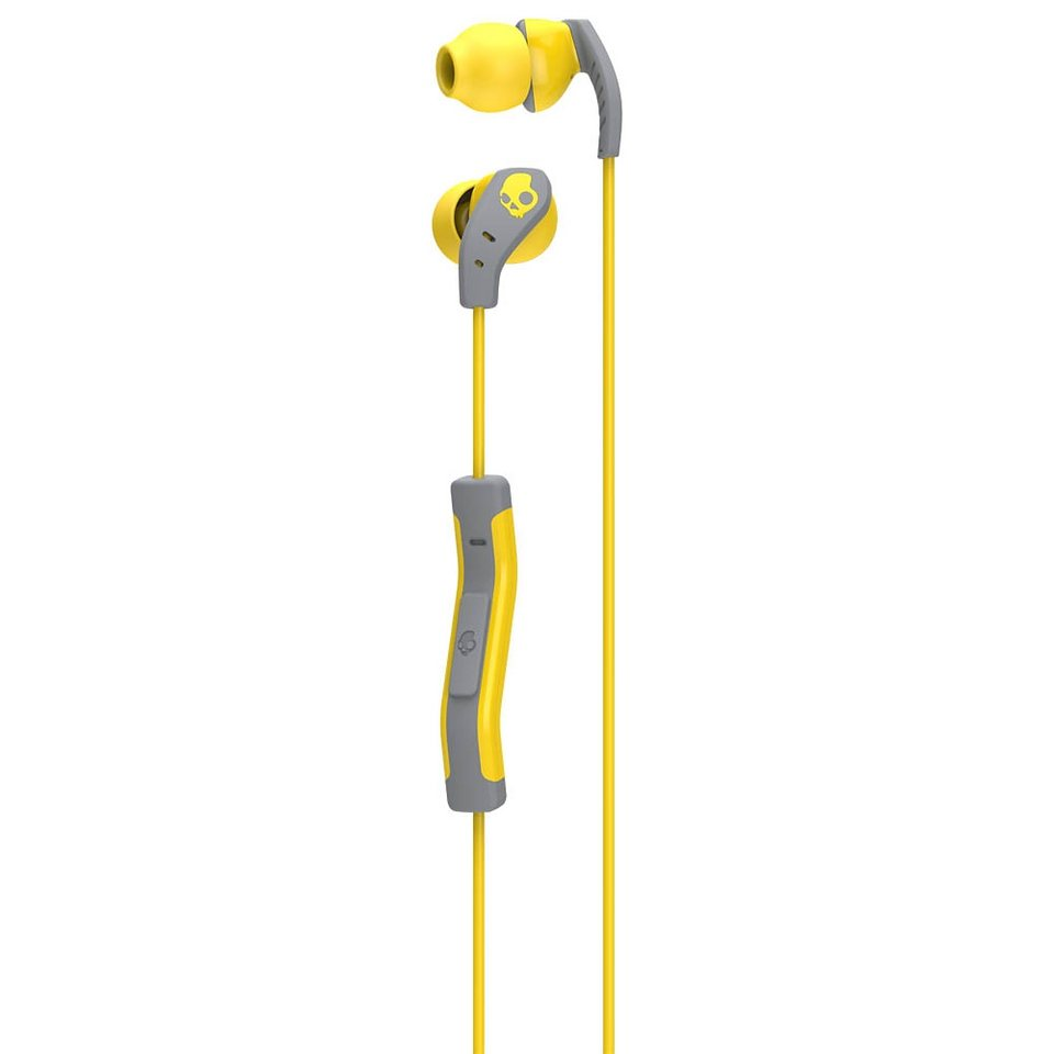 Skullcandy Headset »METHOD IN-EAR W/MIC 1 YELLOW/GRAY/YELLOW« in gelb