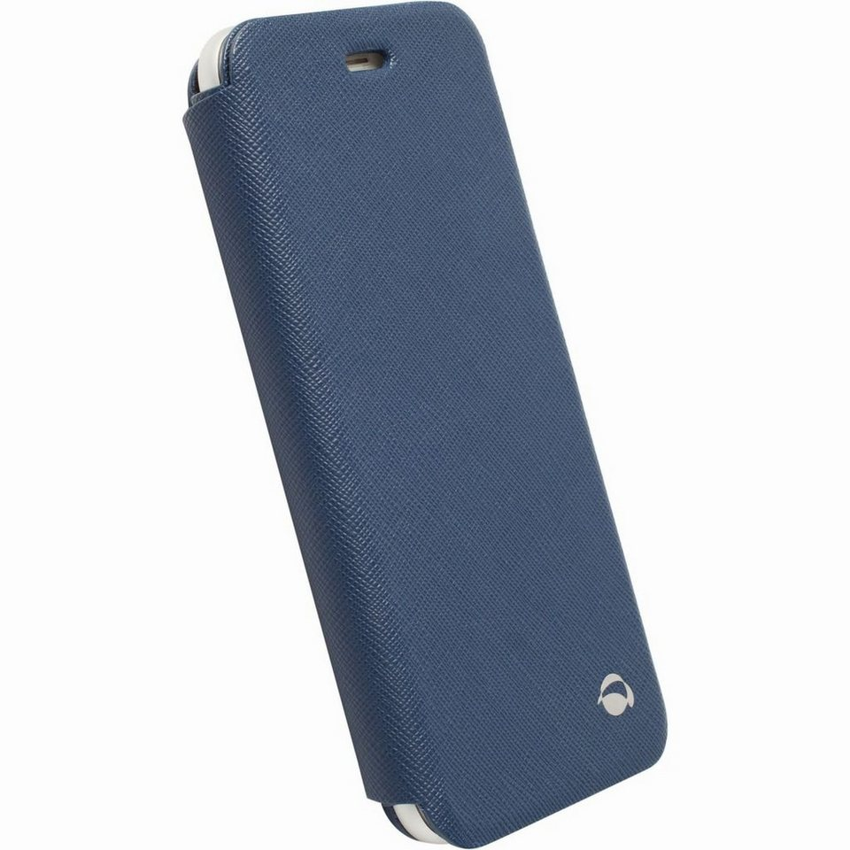 Krusell Handytasche »BookCover Malmö Stand für Apple iPhone 6/ 6S, Blau« in Blau