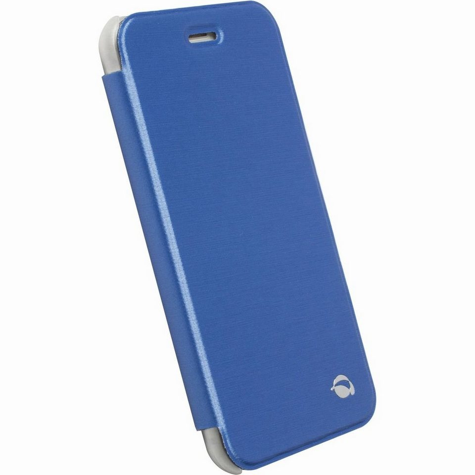 Krusell Handytasche »BookCover Boden für Apple iPhone 6/ 6S, Blau« in Blau