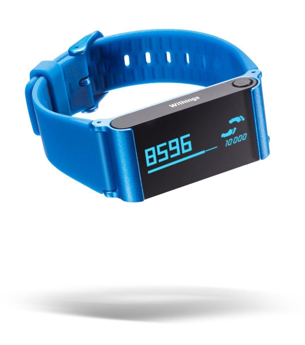 Withings Ersatz-/Wechselarmband »Austauscharmband für Pulse – blau«