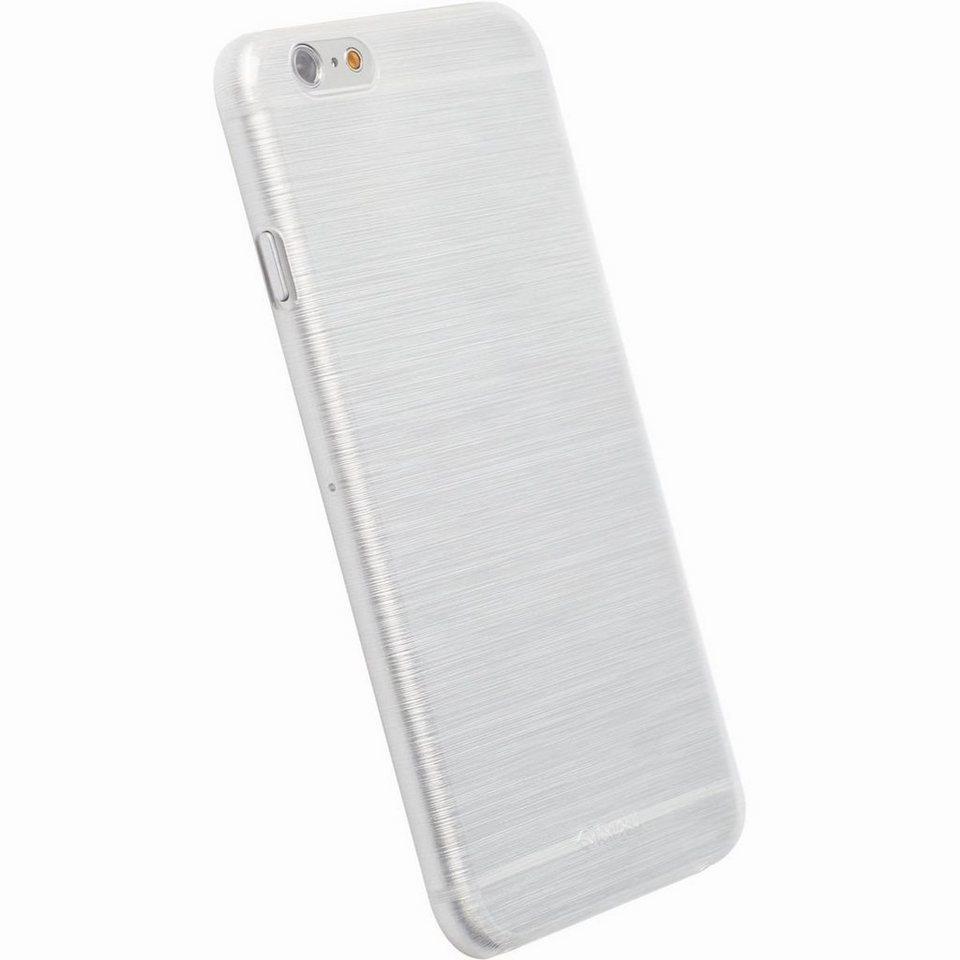 Krusell Handytasche »FrostCover für Apple iPhone 6, Weiß/Clear« in Weiß