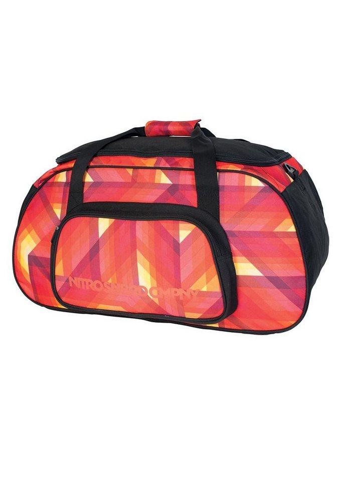 Nitro Reisetasche, »Duffle Bag - Geo Fire«