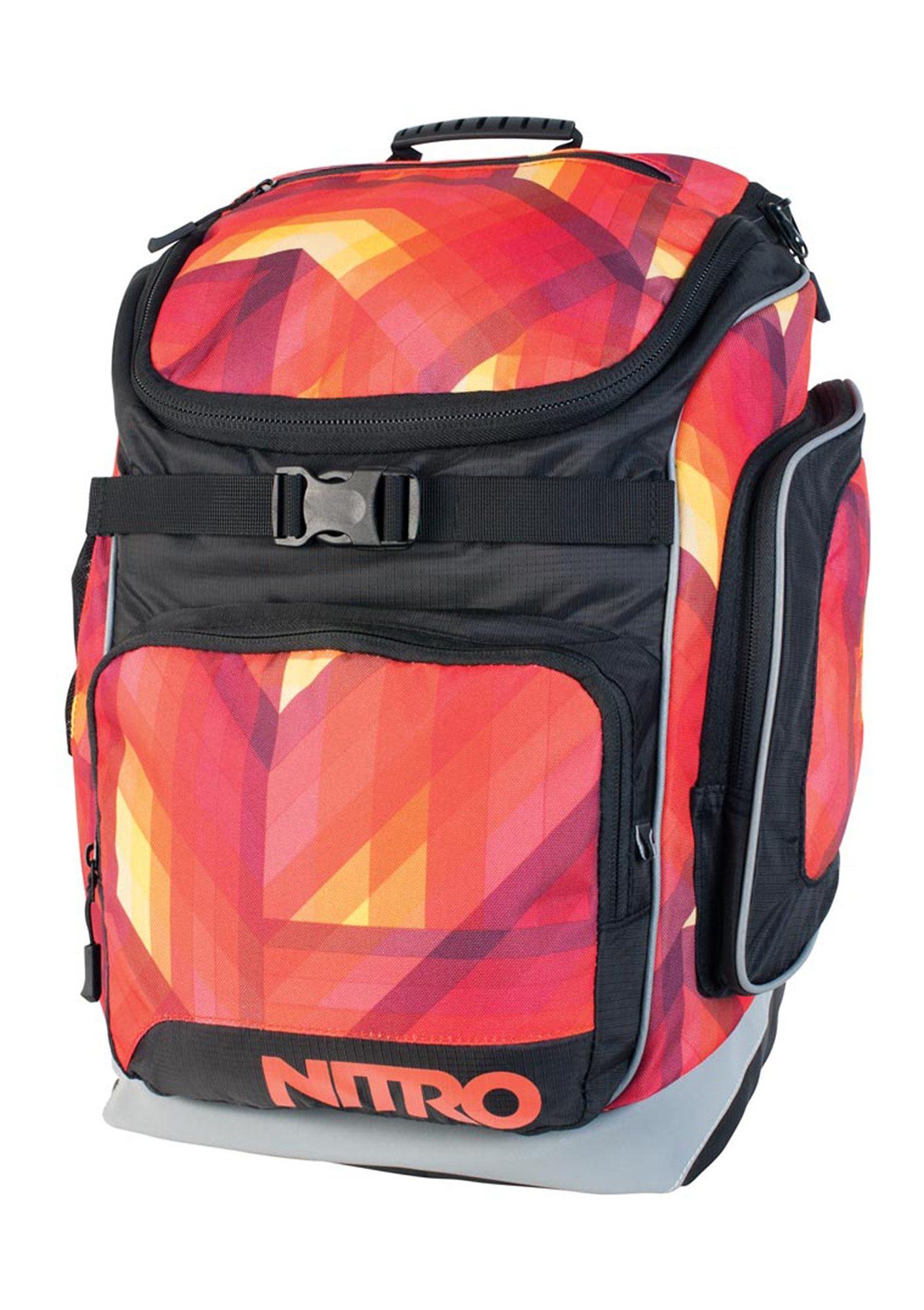 Nitro Schulrucksack, »Bandit - Geo Fire«