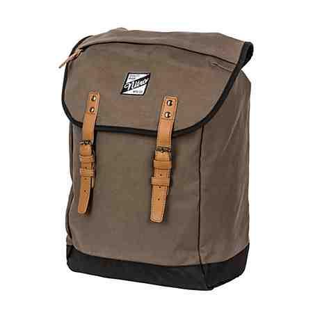 Für Herren, die nicht gerne Taschen bei sich tragen: Der Rucksack.