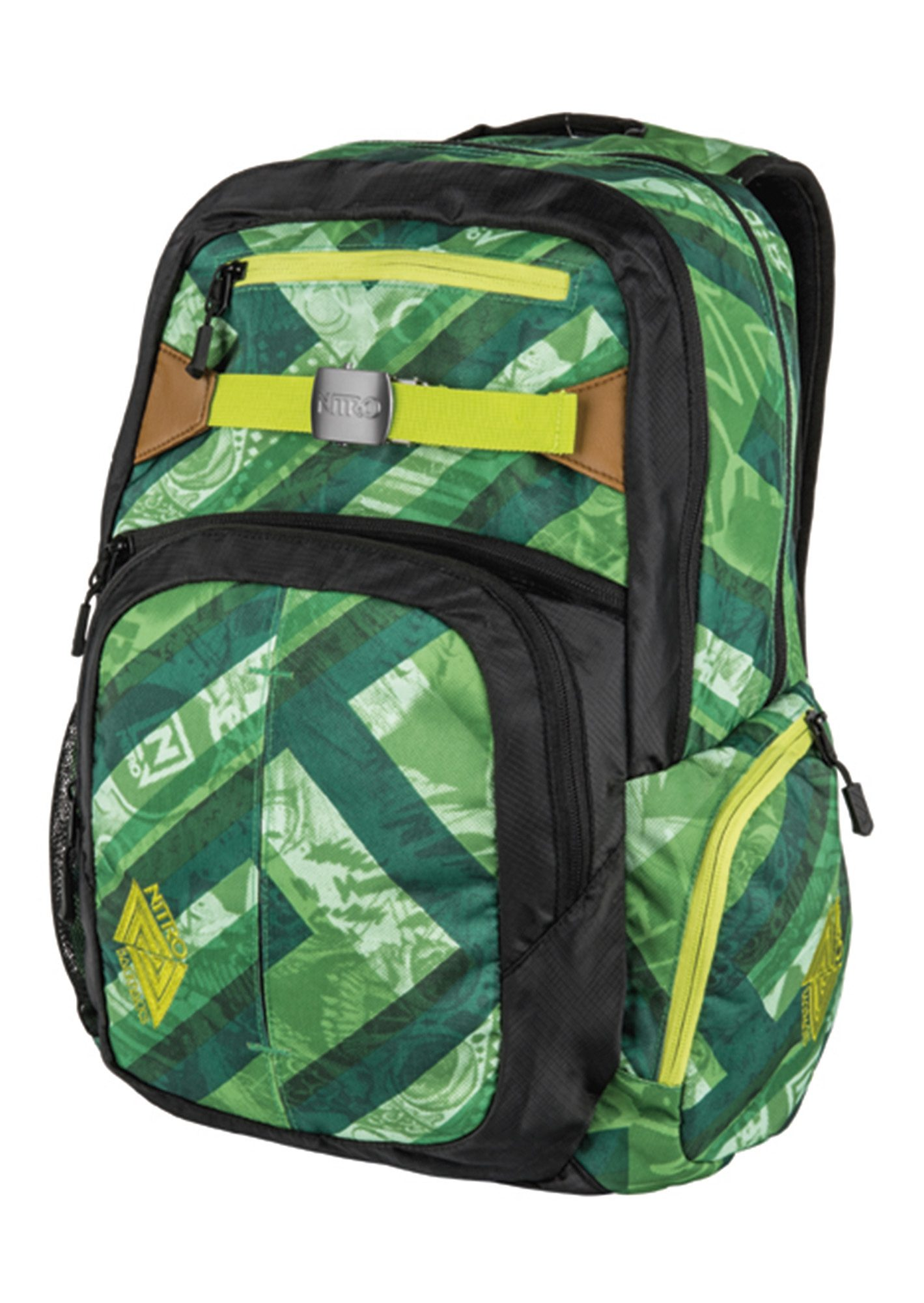 Nitro Schulrucksack, »Hero - Wicked Green«