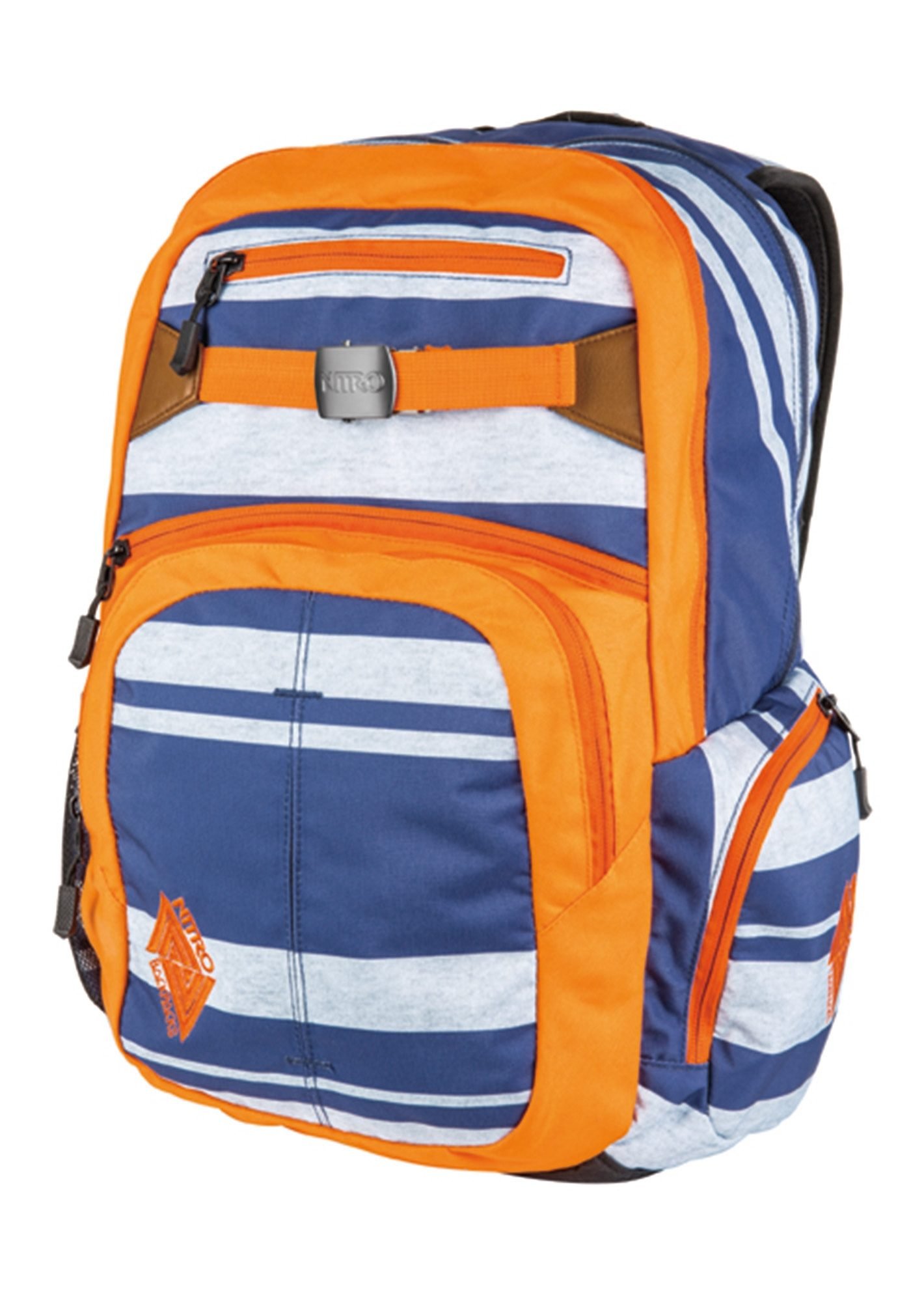 Nitro Schulrucksack, »Hero - Heather Stripe«
