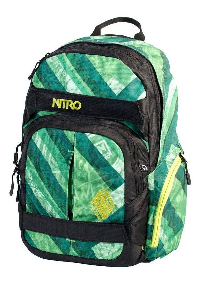 Nitro Schulrucksack, »Drifter - Wicked Green«